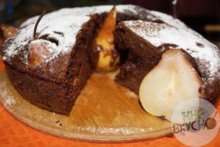 пирог-с-грушами-9