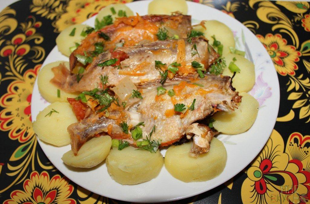 Как приготовить морской окунь вкусно в духовке
