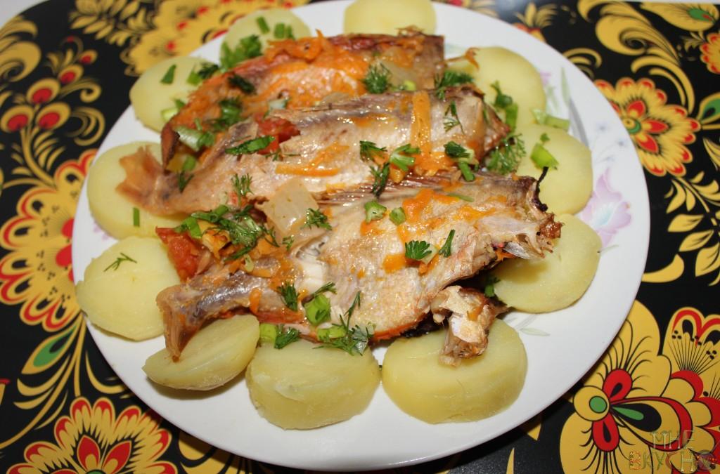 Блюда с морским окунем рецепты