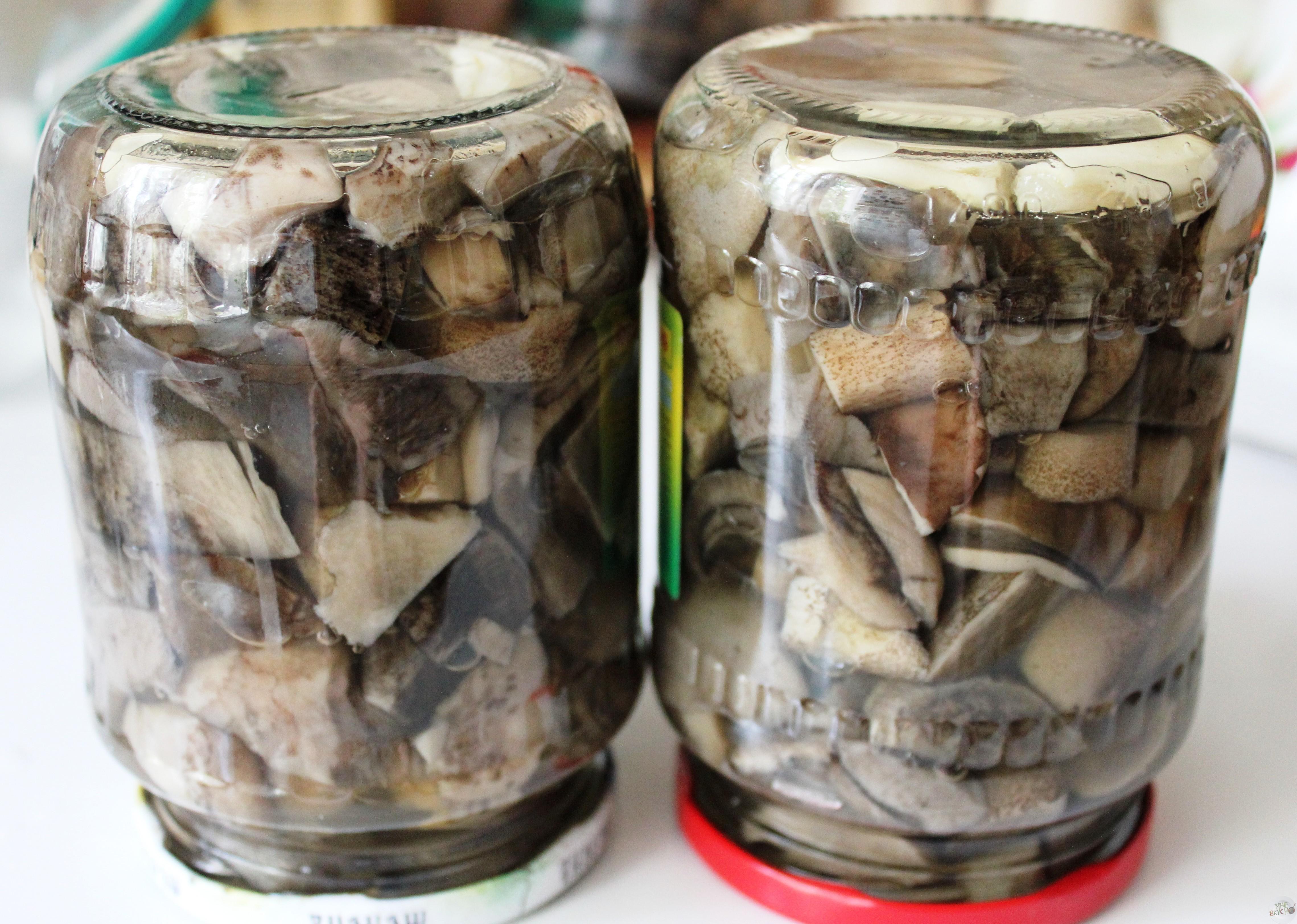 маринованные обабки пошаговый рецепт с картинками