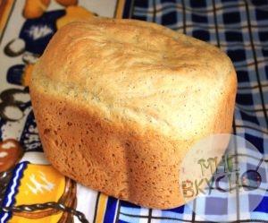 французский хлеб с маком