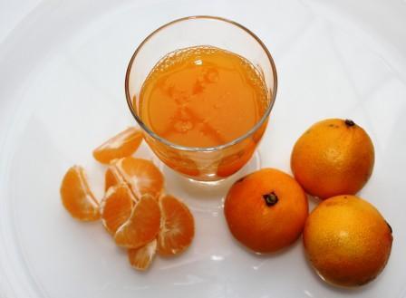 Сок из мандарина