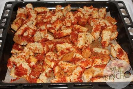 Сухарики в духовке - 2 простых способа приготовления хорошей закуски