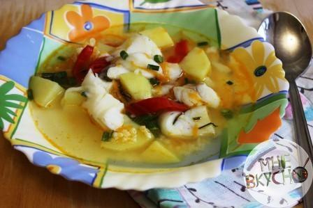 макрорус как приготовить детский суп