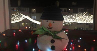 Как сделать снеговика из носка - поделка на Новый год