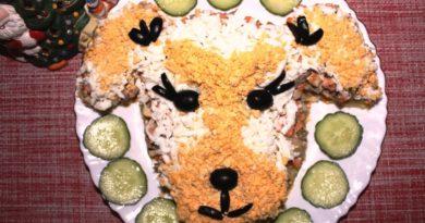 салат-собачка-на-новый-год