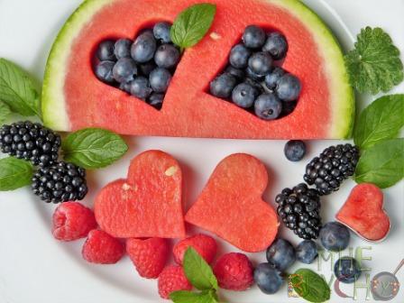 фруктовые-сердца