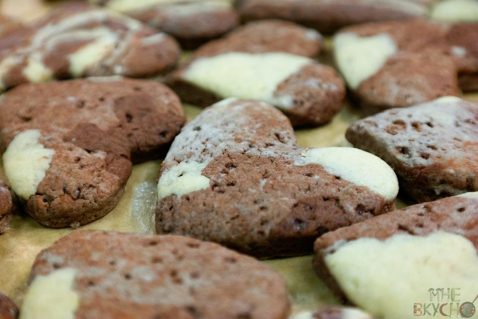 печенье-сердца