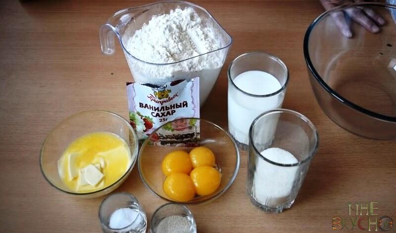 Дрожжевое тесто на булочки - вкусные рецепты сдобного теста на дрожжах