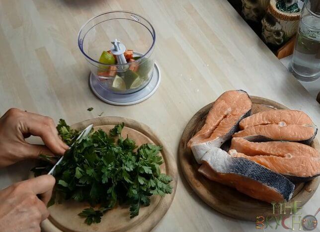 Шашлык из семги и самые вкусные рецепты маринада